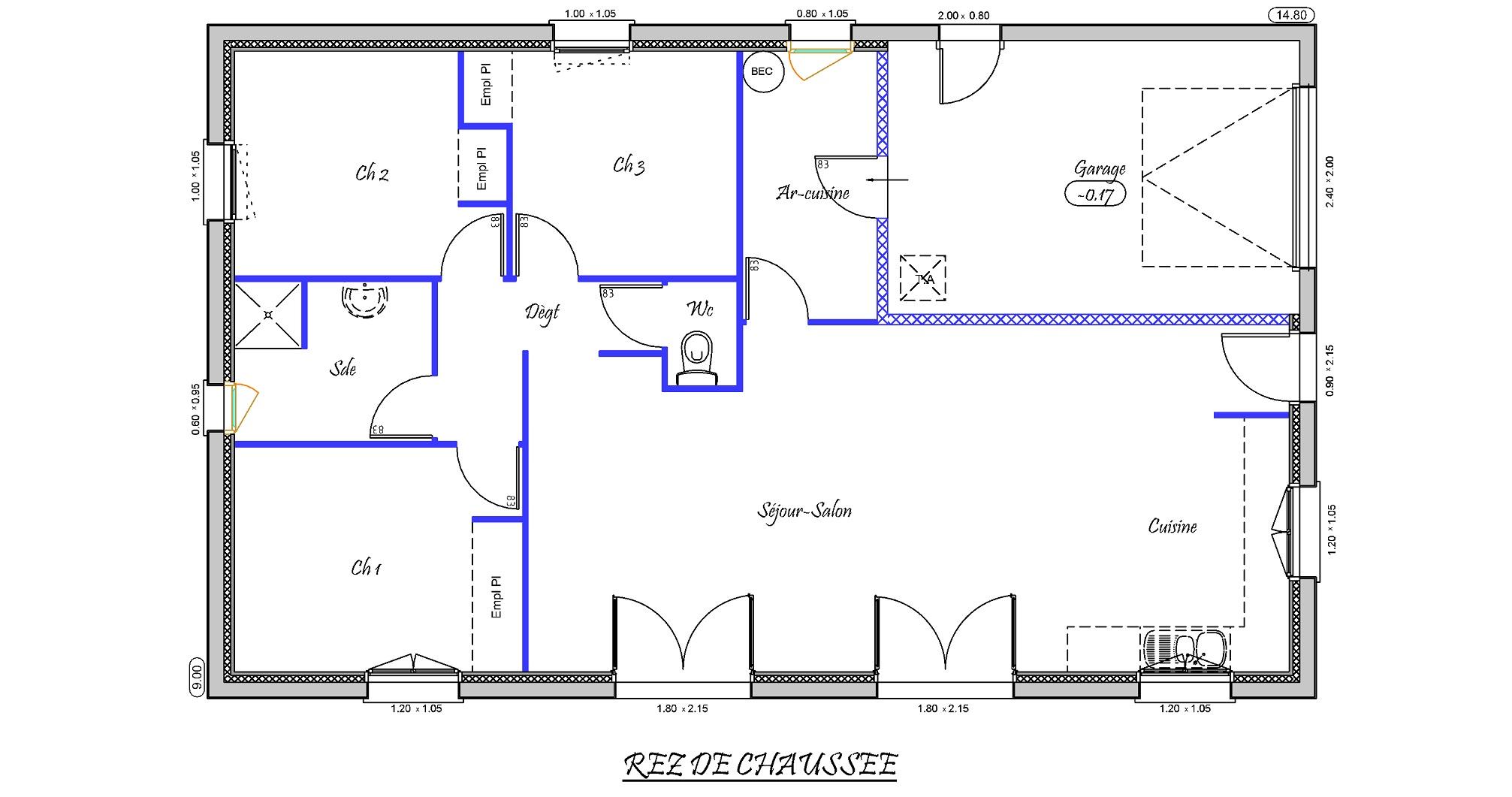 Plan De Villa 3d
