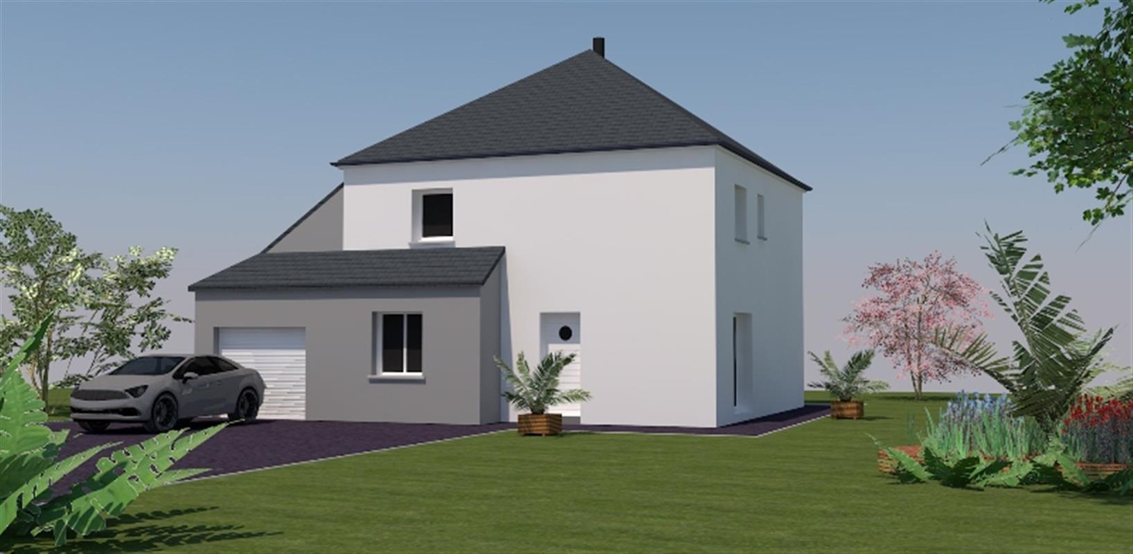Vision 118 m type f5 catalogue constructeur maison for Type construction maison