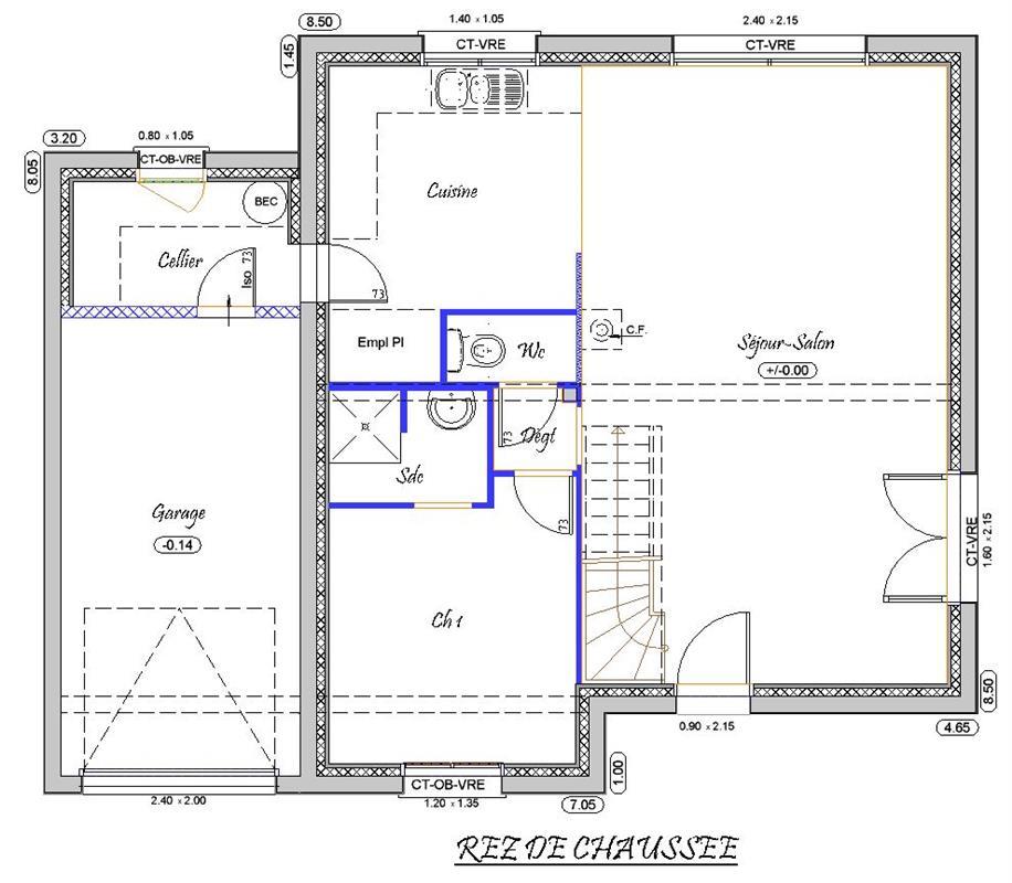 vision 118 m type f5 catalogue constructeur maison neuve traditionnelle en bretagne. Black Bedroom Furniture Sets. Home Design Ideas