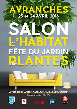 Affiche 2016, salon de l'habitat Avracnhes, Selune Construction