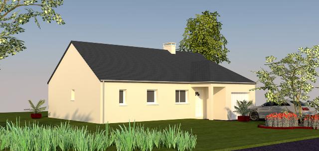 nina 89 m type f4 catalogue constructeur maison neuve traditionnelle en bretagne. Black Bedroom Furniture Sets. Home Design Ideas