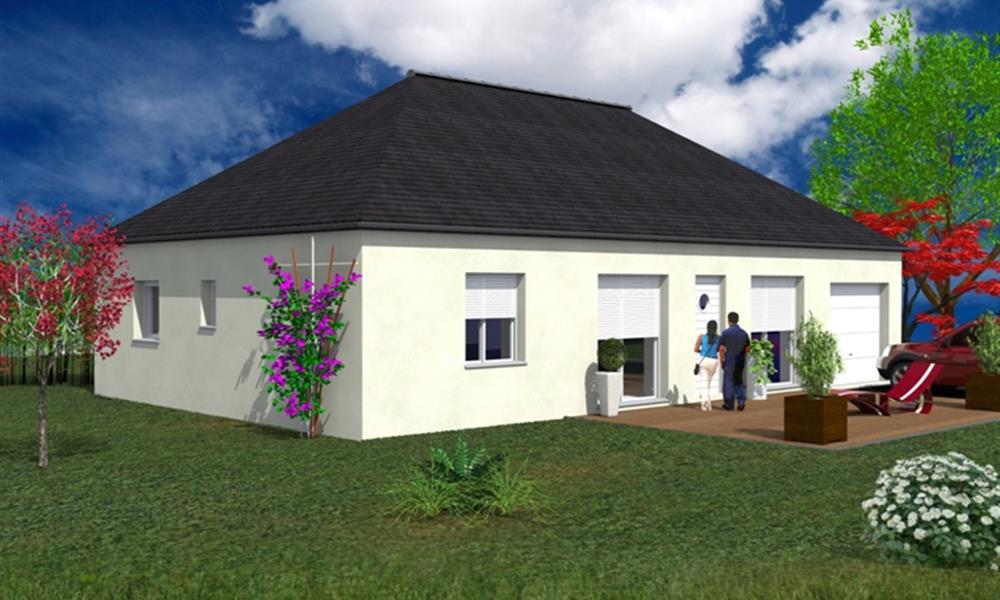narca 90 m type f4 catalogue constructeur maison neuve traditionnelle en bretagne. Black Bedroom Furniture Sets. Home Design Ideas