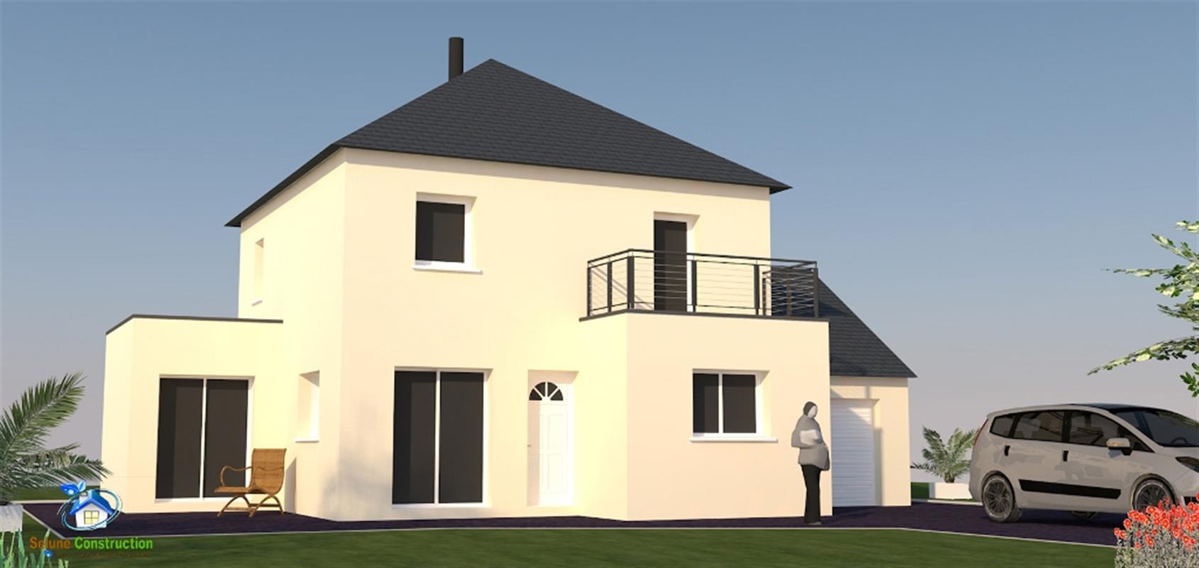 atlantide 102 m type f5 catalogue constructeur maison neuve traditionnelle en bretagne. Black Bedroom Furniture Sets. Home Design Ideas