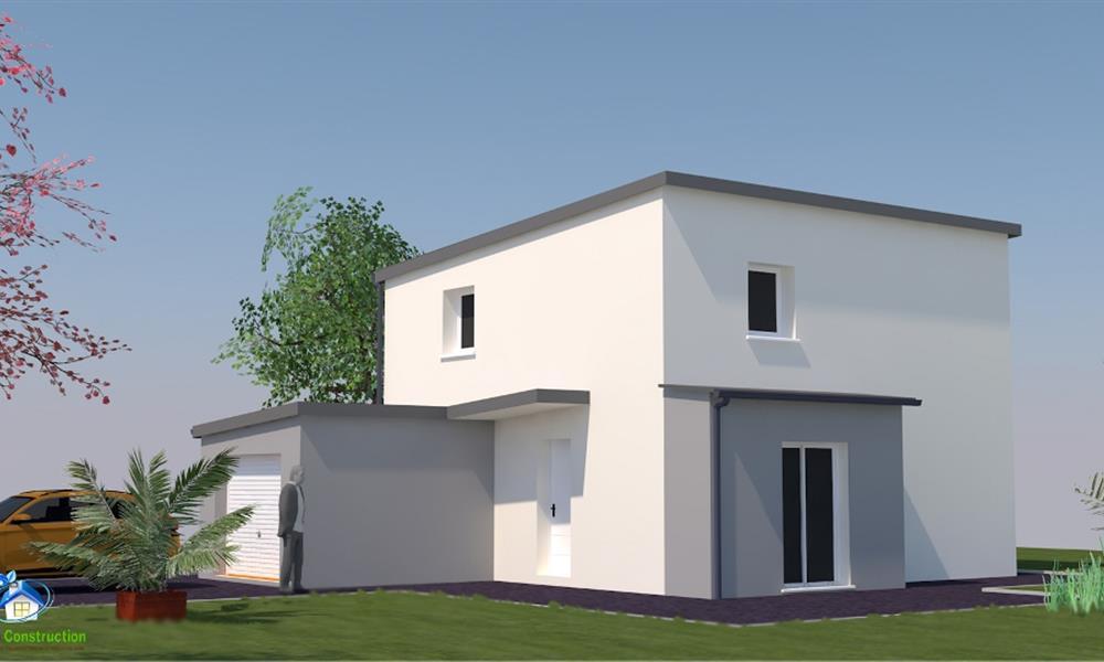 vita 95 m type f4 catalogue constructeur maison neuve traditionnelle en bretagne. Black Bedroom Furniture Sets. Home Design Ideas