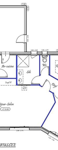 elena 89 m type f3 nos mod les de maisons neuves en ille et vilaine normandie et pays de. Black Bedroom Furniture Sets. Home Design Ideas
