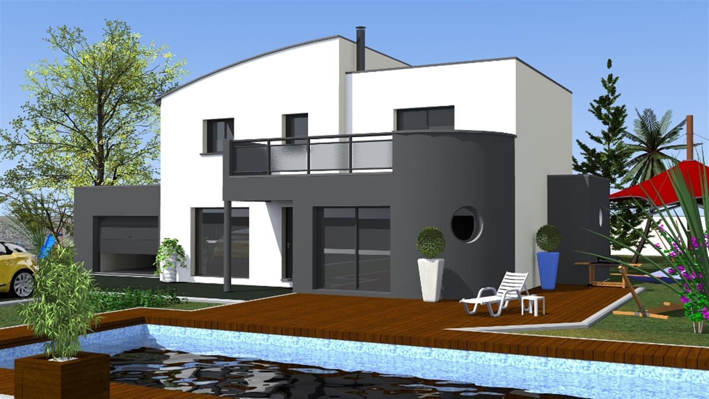 canac 146 m type f7 catalogue constructeur maison neuve traditionnelle en bretagne. Black Bedroom Furniture Sets. Home Design Ideas